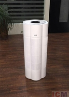 Mz HUNTER Fan Ionizer TOWER AIR PURIFIER for Smokers Purifier for Large Rooms Allergies Top Ten Cleaning