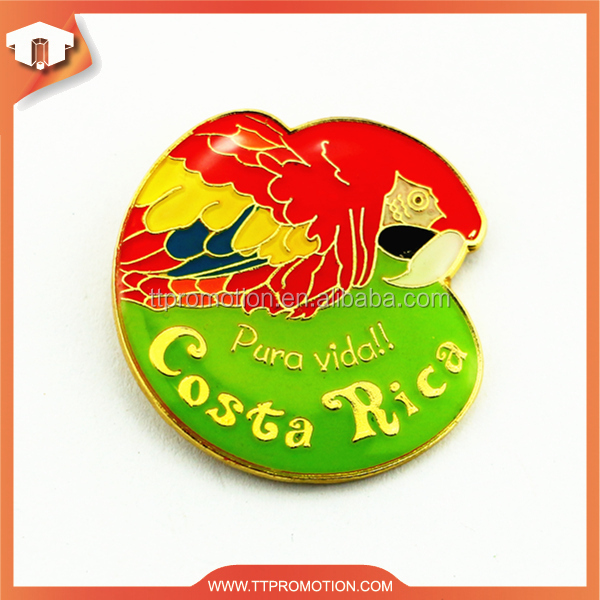 Professional 3d animal metal pin for wholesale