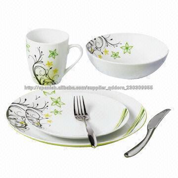 16pcs f brica de loza vajilla de cer mica utensilios de for Utensilios de cocina de ceramica
