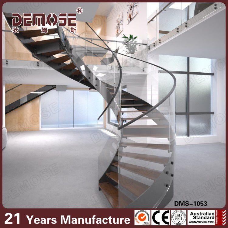 extrable escaleras pasamanos flotante escalera espiral kits
