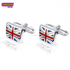 2018 Custom Designs Wedding cufflinks Men's Country UK Flag Cufflink