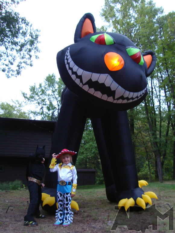 Backyard Inflatable 3m Halloween Decorations Inflatable Cat Buy Inflatable Halloween Cat Inflatable Giant Cat Inflatable Black Cat Product On