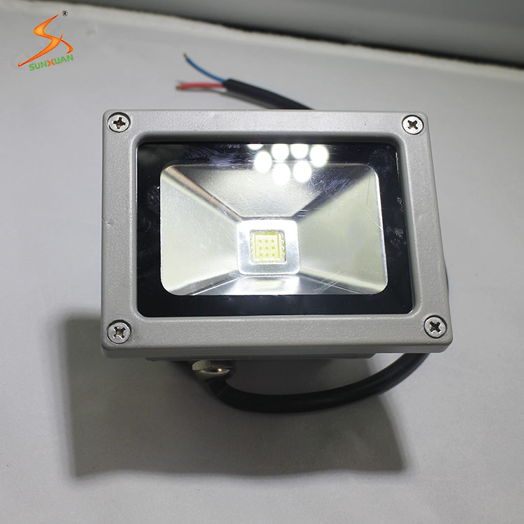 Factory price IP65 waterproof 10w stainless steel stand led spot and flood light