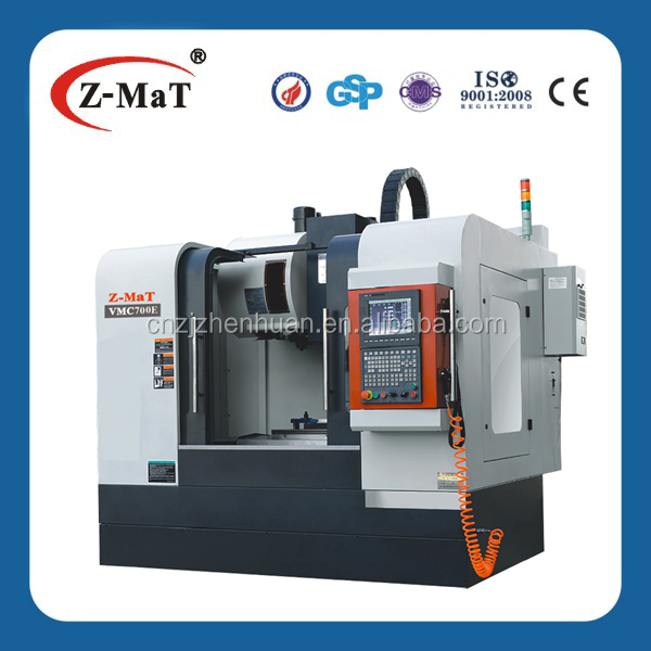 VMC700E - 3 axis linear motion guideway cnc milling machine vmc/cnc milling machine gsk controller for aluminum