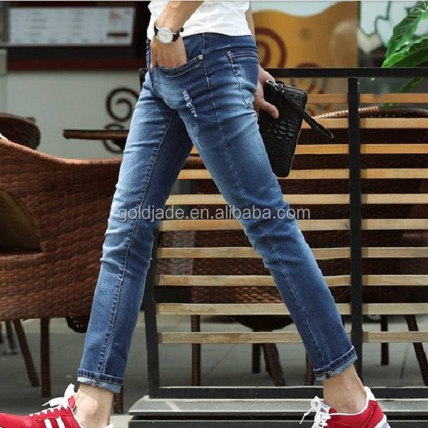 High Quality Ripped Men Jeans 2015,Washed Best Jeans Brands Men ...