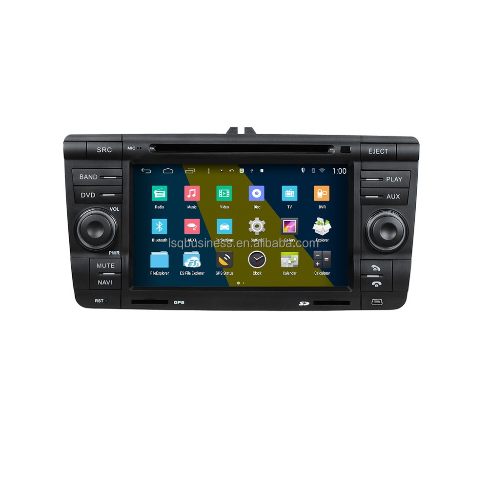 S160 System Android 4.4.4 HD 1024*600 Car DVD Player GPS Radio Multimedia Navigation System for Skoda Octavia