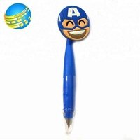 Colorful Cute Multi-Function Ballpoint 3D Silica Gel Pens