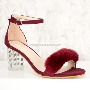 9f6fd28fc01 Low Heel Ladies Sandals