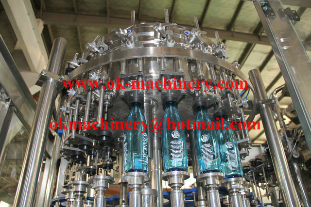 40/40/12 carbonated drinks plant in turkey / soft drinking filling line