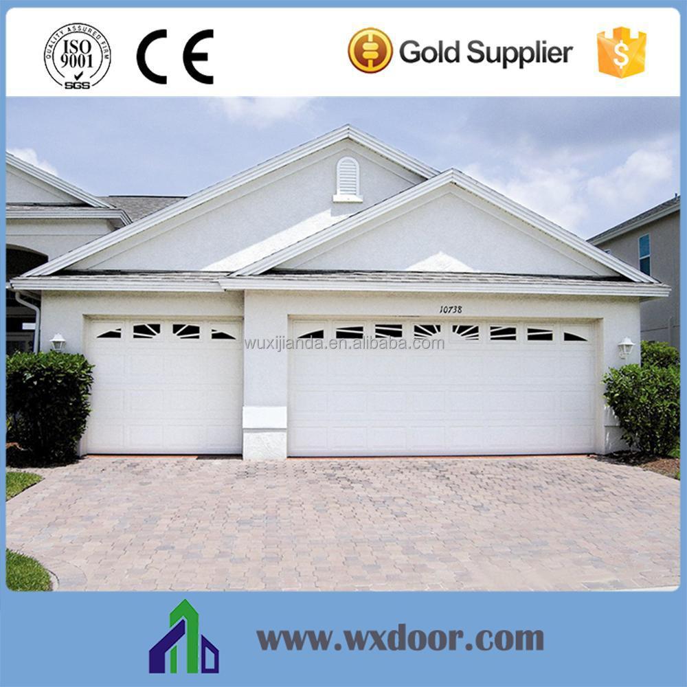 Sectional Panel Galvanized Steel Sandwich Garage Doors Cheap Price