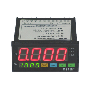 2015 DH8-RNF-AA5 220V AC output relay with delay time digital ampere meter