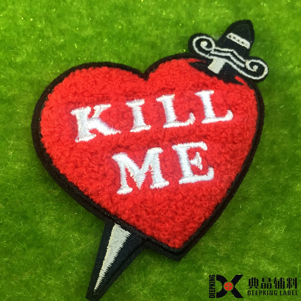 Custom felt patches embroidery patch buy