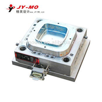 pmma plastic thin wall food vegetable container injection mould
