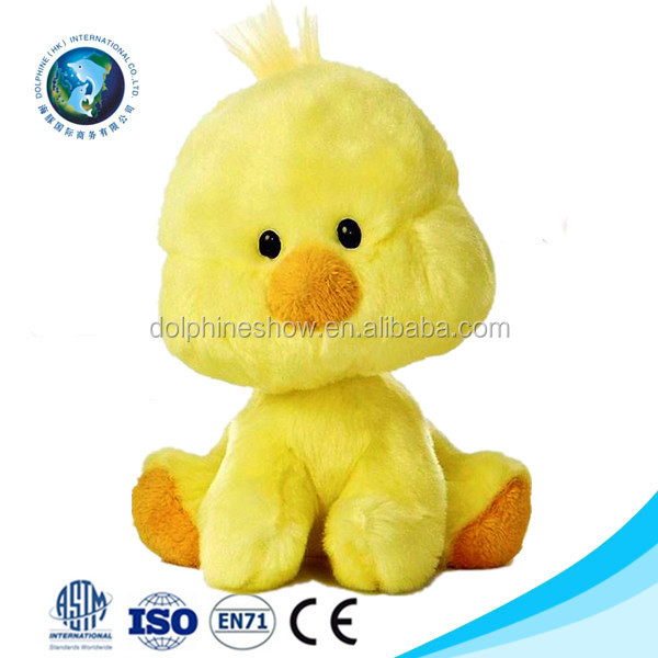 Oen Design Promotional Cheap Plush Yellow Chick Soft Toy Cute Mini