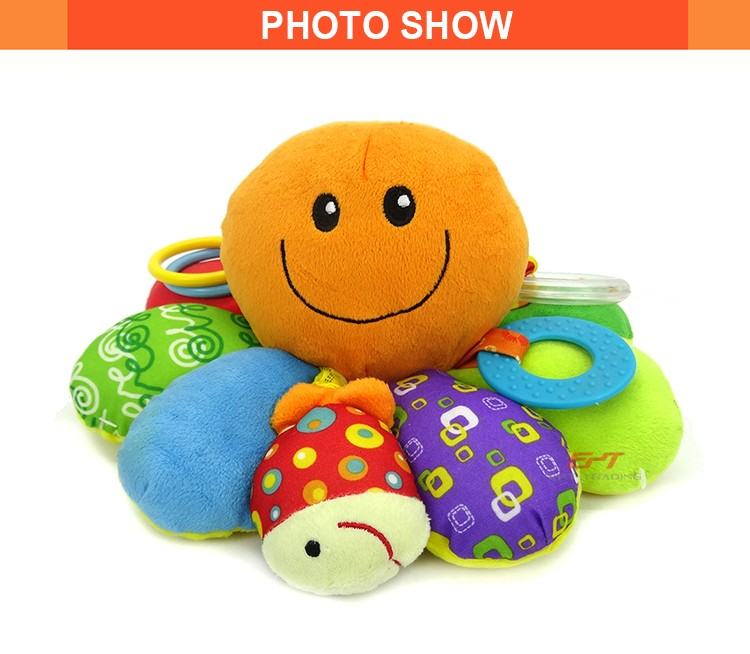 Hot selling cute octopus baby plush toys