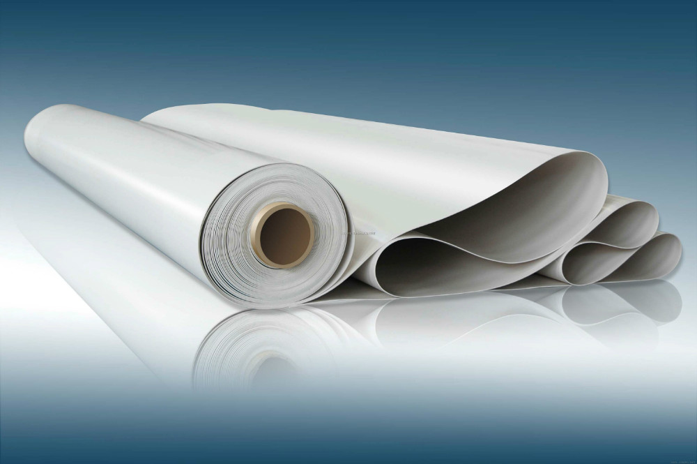 High quality plastic pvc flexible membrane sheet for for Flexible roofing material