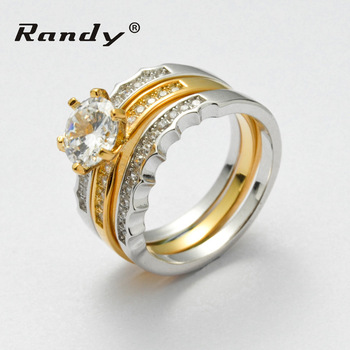 Latest Gold Ring Designs For Girls 3 Carat Diamond Wedding Ring Cheap Price  Wholesale