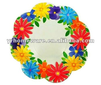 8 Inch Flower Shaped Paper Plates Buy Flower Shaped Plates