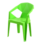 Wholesale free sample modern high quality bulk outdoor garden stacking pp plastic simple plastic dining chair
