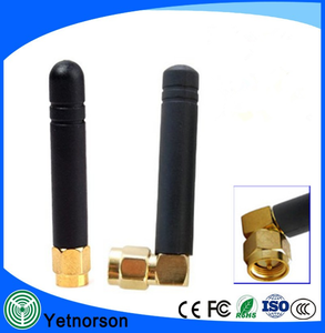 Right angle 3G GSM 3dBi SMA Male Plug Wireless RF Transceiver Antenna