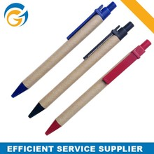 Eco Friendly Pen Promotional Paper Ballpen with Logo