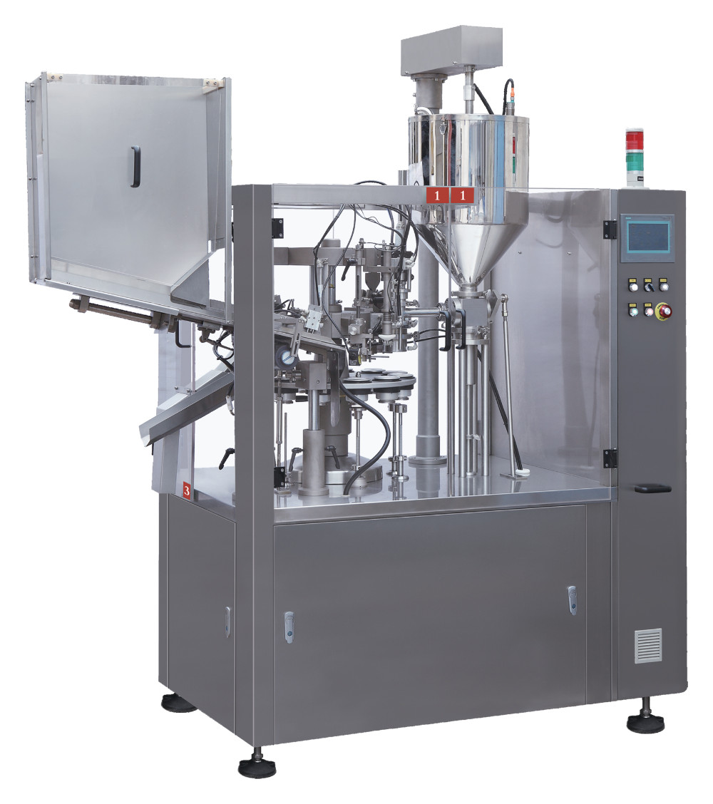 NF-80 AUTTOMATIC TUBE FILLING AND SEALING MACHINE