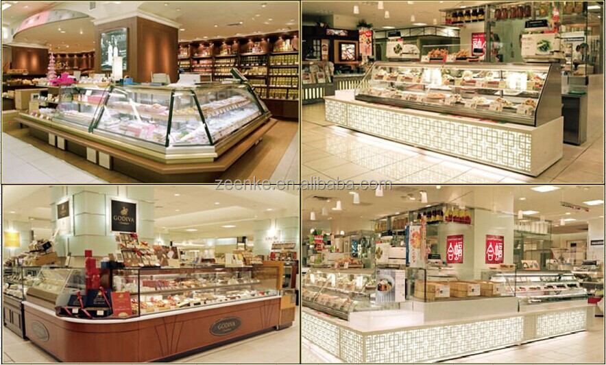 Open Display Refrigerator/ Cake Display Refrigerator/ Bakery ...