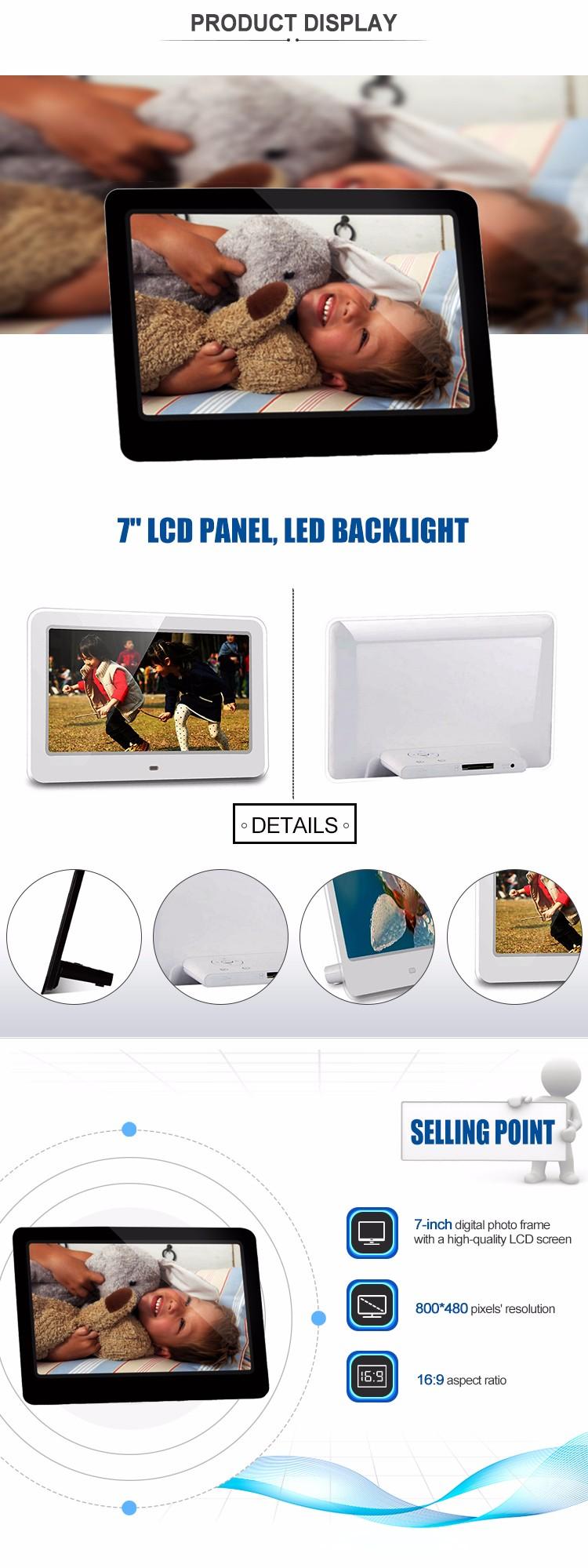 Top Sale 7 Inch Lcd Advertising Player Best Buy Digital Frame - Buy ...