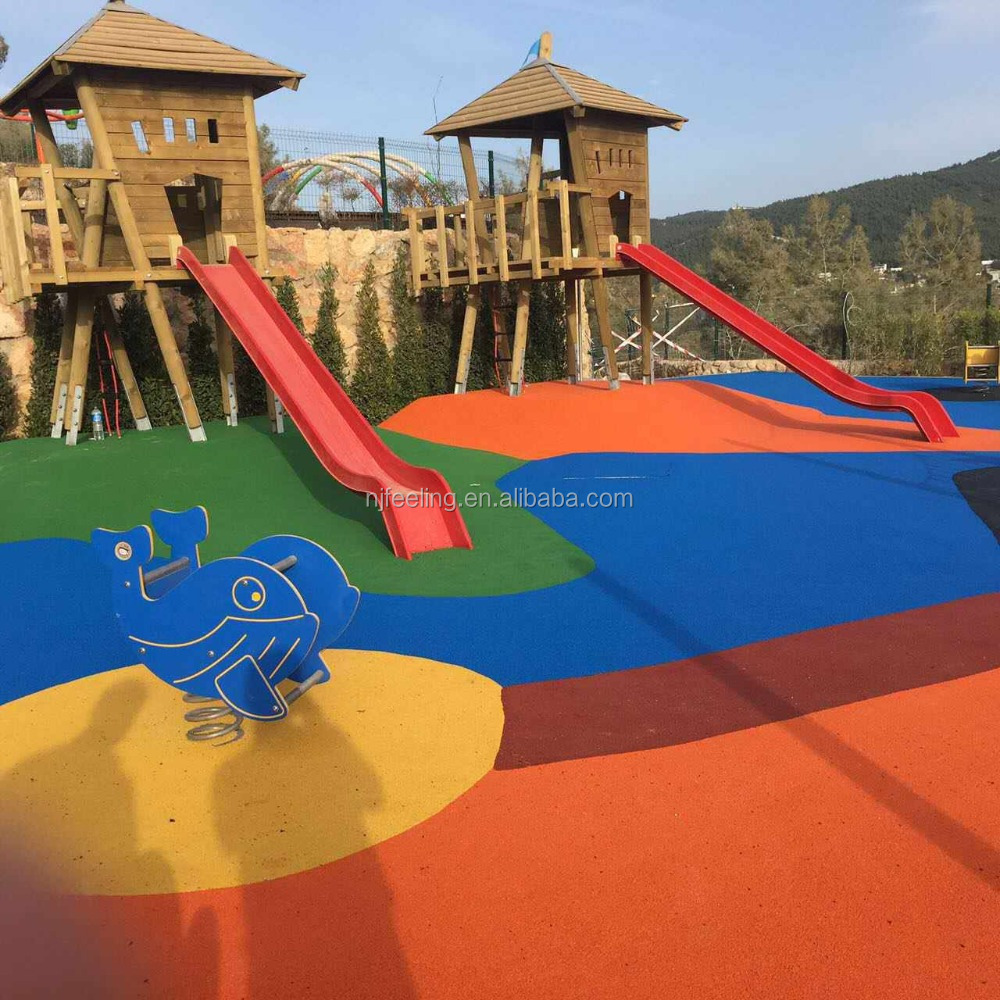 EPDM <strong>rubber</strong> price From China for garden floor/playground-FN-I-17022801
