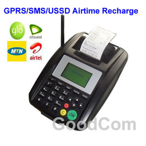 Goodcom Air Voucher Machine/Airtime Top up Printer Work Flow/Company Logo Can be Customized to the Printer