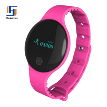 Hot Selling Slim Digital Printed With Your Logo Womens Smart Bracelet Watch With Bluetooth Pedometer
