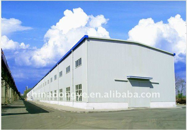 steel frame housing for warehouse/workshop/shed/hangar