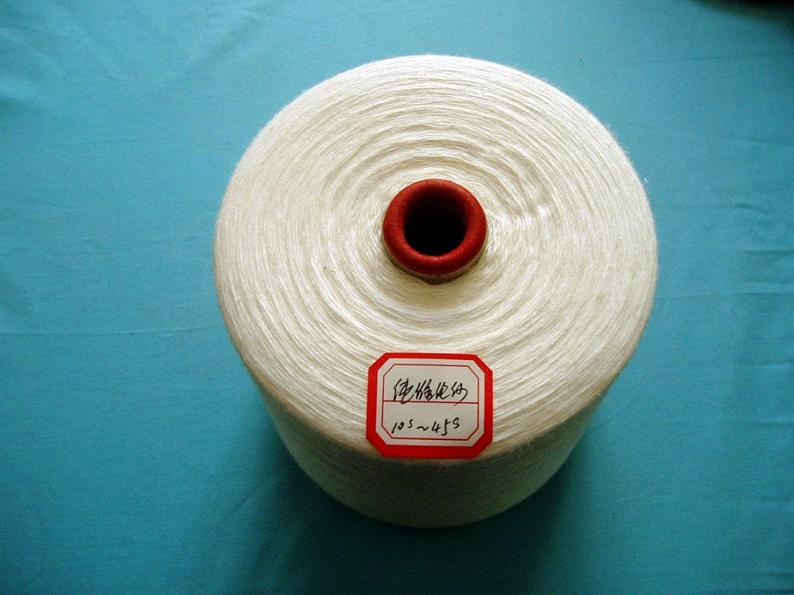 water soluable PVA spun yarn, ring spun PVA Water Soluble Yarn