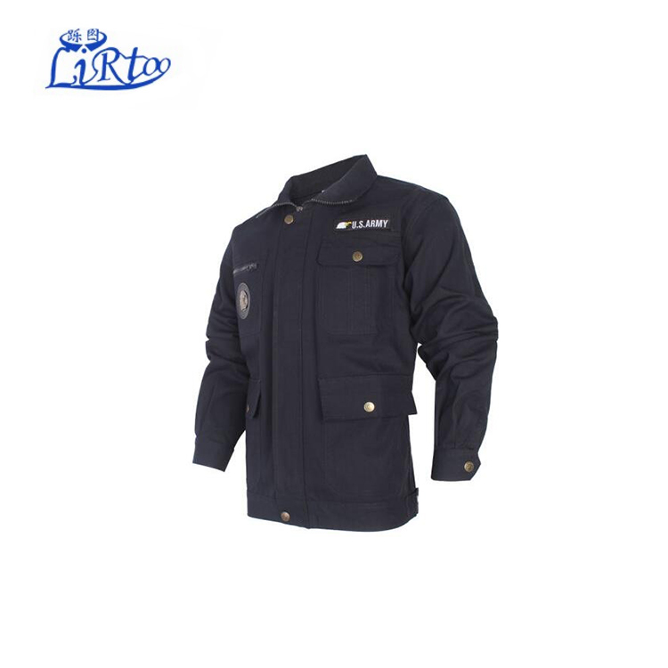 Custom Design Security Guard Uniform Uniform ชุดทำงาน