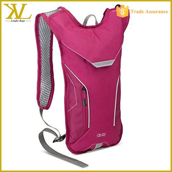 2L Hydration Bladder Water Backpack, Camping Hydration Bag Pack