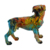 Gift Craft Lively Sitting Creative Art Craft Funny Resin Dog Statues