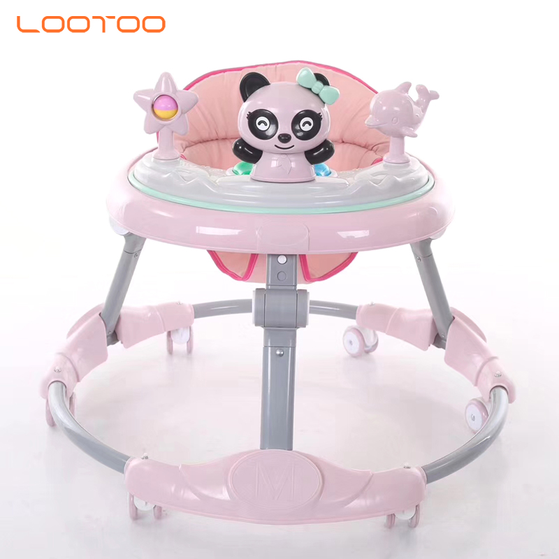 2019 new baby walker with music cheap plastic kid carrier toys simple baby walker