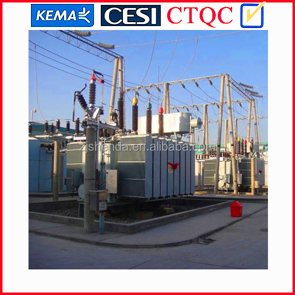 33KV 3phase Oil Immersed Power Transformer for transformer substation 33kv from china factory with certificate