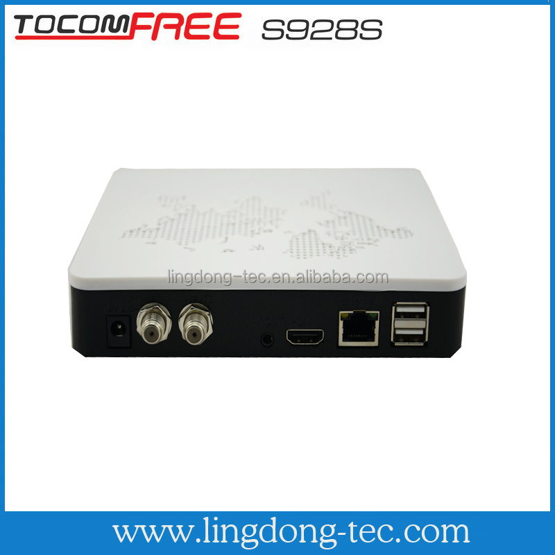 <strong>update</strong> azbox duosat receiver digital receiver TOCOMFREE S928S with iptv ,iks sks free for Colombia