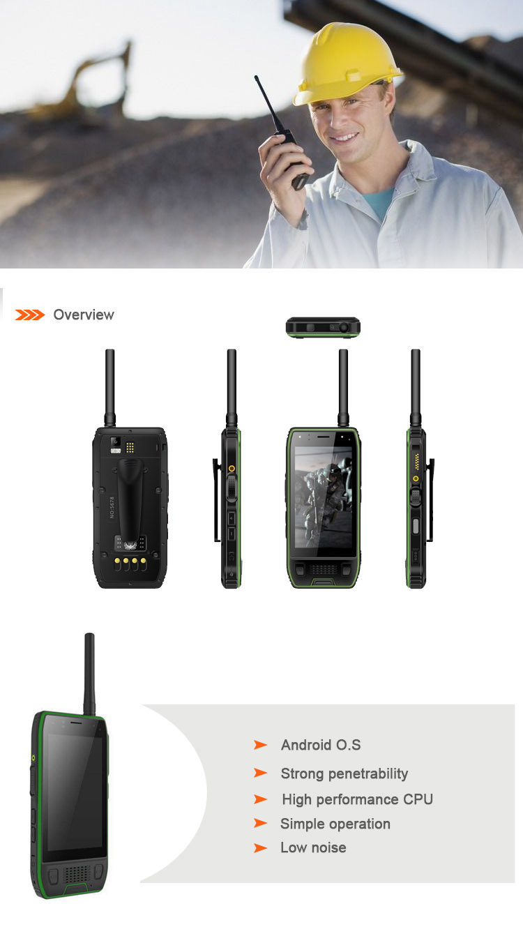 Water-resistant Durable High Power Talkie Walkie