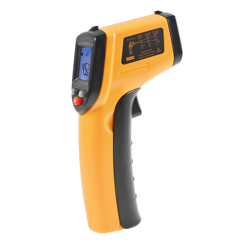 Non Contact Digital Laser infrared thermometer GM320 -50-380C temperature Pyrometer IR Laser Point Gun For Industry home use - KingCare | KingCare.net