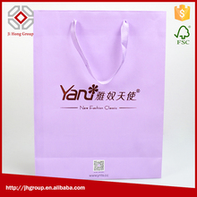 Good quality popular promotional printed kraft paper packaging bag