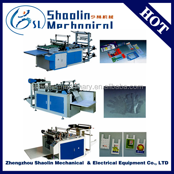 Quality warranty water plastic bag making machine with best service