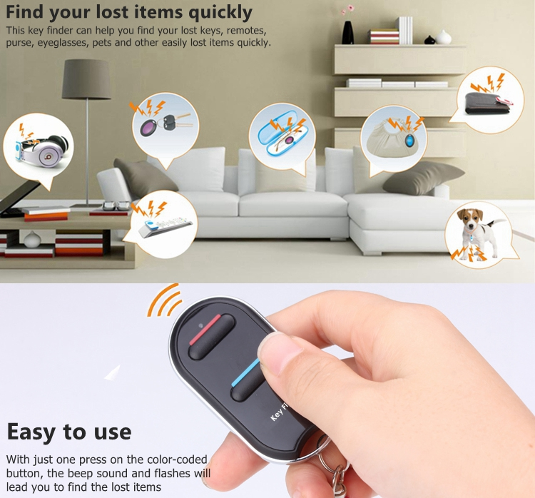 Find My Keys >> 2017 New Gadget For Concert Find My Keys Gadget Anti Lost Alarm Key Finder Tracker With Printed Logo Colorful Packaging View Find My Keys Gadget