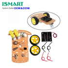 Tracking Motor Smart Robot Car Chassis Kit Speed Encoder Battery Box 2WD Ultrasonic module For UNO R3 MEGA kit