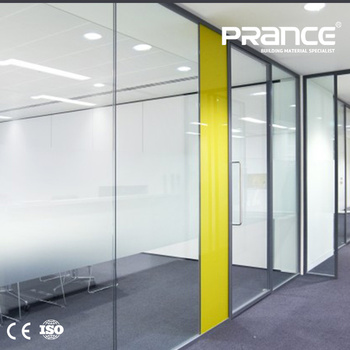 Aluminum Frame Glass Wall Office Partition Dividers - Buy Office ...