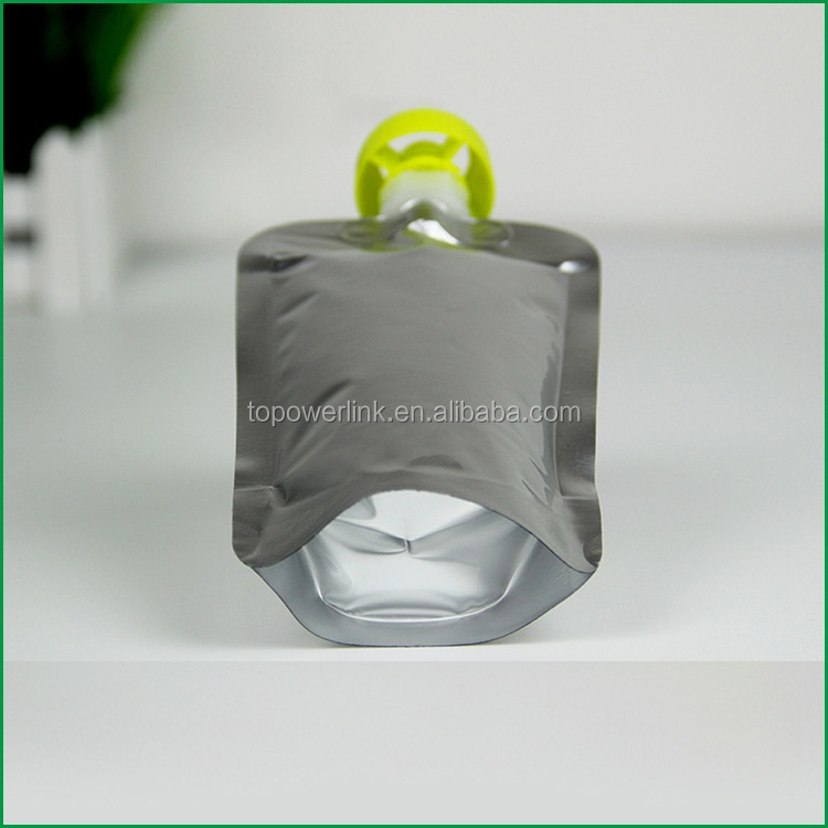 Private Label Stand Up Doypack Aluminum Foil Baby Food Spout Pouch For Motor Oil Ink Packaging Bag Alcohol Liquids Pouches