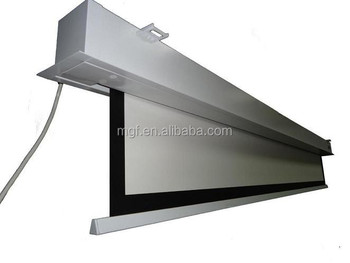 """70"""" 150""""electric Deluxe In ceiling Motorized Projector Screen"""
