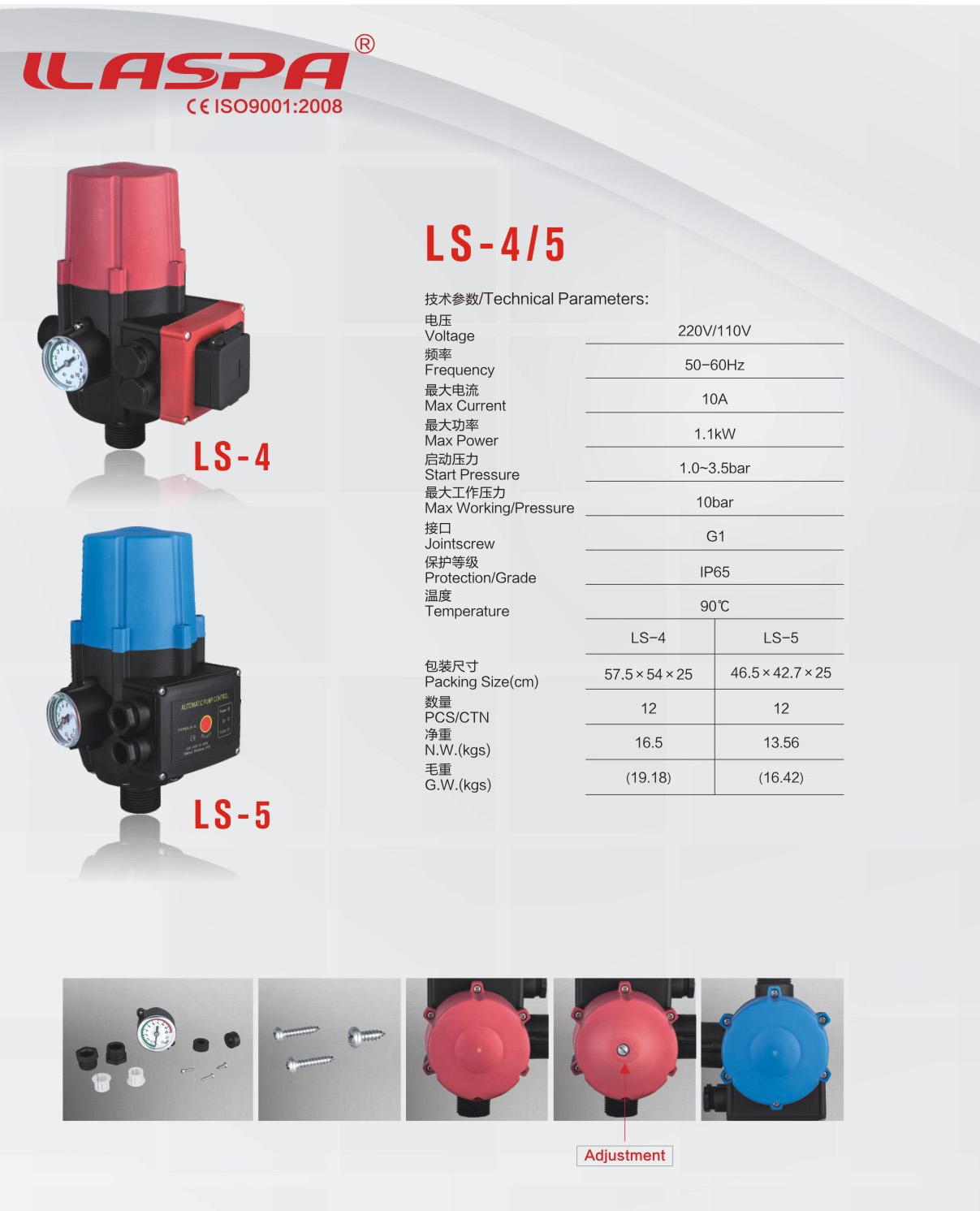 IP65 Wasserdicht Druckschalter Controller Automatic Digital ON//OFF For Luft Gas