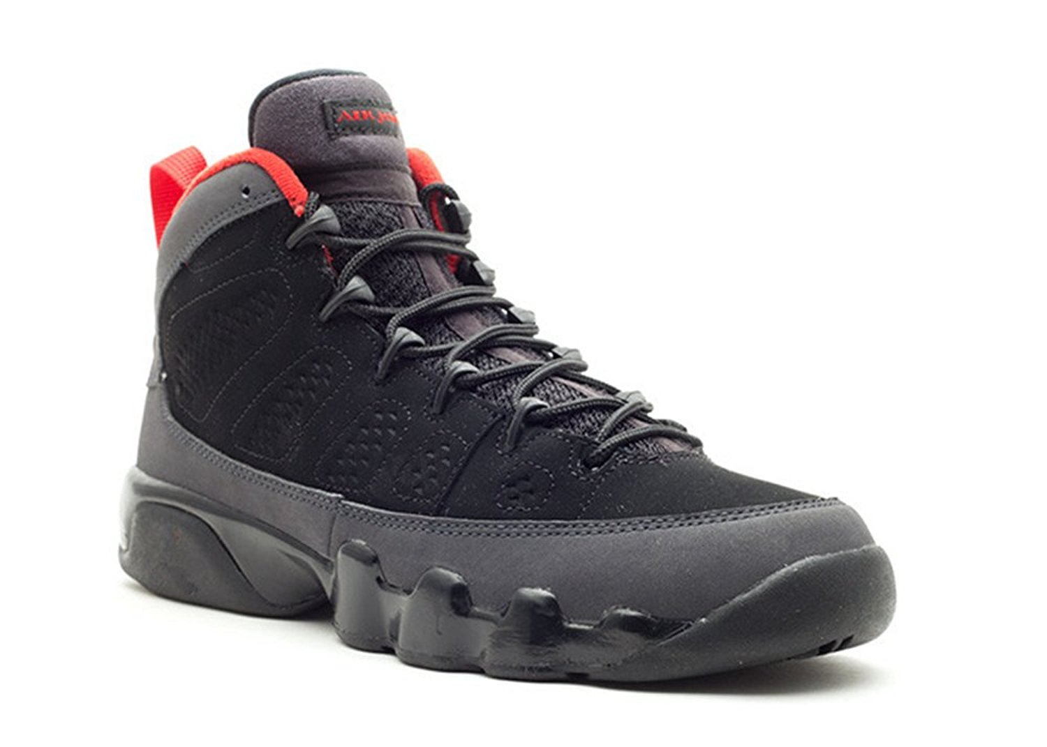 best website 858c4 468a3 Get Quotations · Basketball Men s Shoes Air Jordan 9 Retro gs Black varsity  red drk charcoal 011277 2 Performance